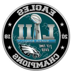 Philadelphia Eagles 2018 Super Bowl Championship Sticker Dec