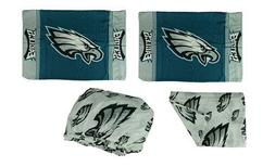 Philadelphia Eagles 3 Piece Full Bed Sheet Set