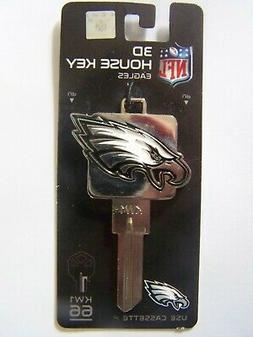 Philadelphia Eagles 3D   Kwikset house key blank KW1