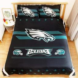 Philadelphia Eagles 3PCS Bedding Set Duvet Cover Pillowcases