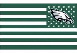 Philadelphia Eagles 3x5 Ft American Flag Football New In Pac