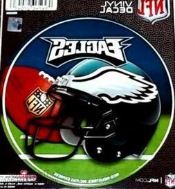 "Philadelphia Eagles 4"" Round Decal Bumper Sticker Emblem NFL"