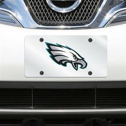 Philadelphia Eagles Acrylic License Plate Mirror Mirrored