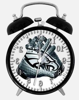 philadelphia eagles alarm desk clock 3 75