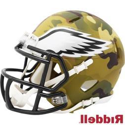 Philadelphia Eagles Alt Camo Riddell Speed Mini Helmet - New