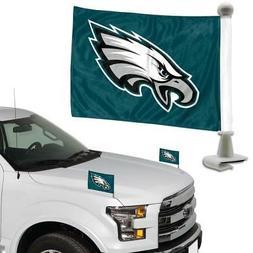 Philadelphia Eagles Ambassador Car Flag 2 Piece Set  NFL Ban
