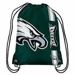 Philadelphia Eagles Back Pack/Sack Drawstring Gym Bag Sport