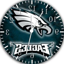 Philadelphia Eagles Frameless Borderless Wall Clock For Gift