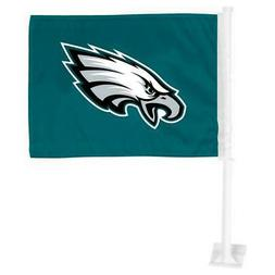 Philadelphia Eagles Car Flag 12 x 15 Double Sided All Pro De