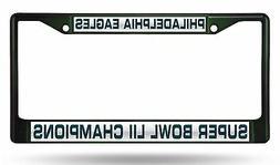 Philadelphia Eagles Champions RICO LASER FRAME Chrome Metal