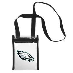 Philadelphia Eagles CLEAR Crossbody Tote Bag Purse Stadium S