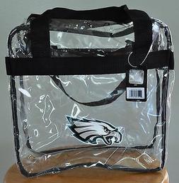 Philadelphia Eagles CLEAR Messenger Tote Bag Purse - Meets S