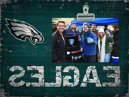 Philadelphia Eagles Clip Picture Frame  NFL Photo Plaque Sig