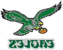Philadelphia Eagles Color Die Cut Vinyl Decal Sticker - You
