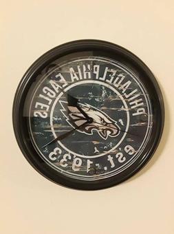 Philadelphia Eagles decorative sports clock man cave men  fo