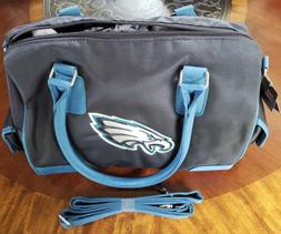 PHILADELPHIA EAGLES DELUXE EXTRA LARGE EMBROIDERED HANDBAG!