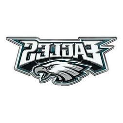 Philadelphia Eagles Die-Cut Alternate Metal Auto Emblem  Car