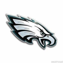 Philadelphia Eagles Emblem Sticker Raised 3D Metal Auto Embl