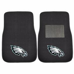 Philadelphia Eagles 2 Piece Embroidered Car Auto Floor Mats