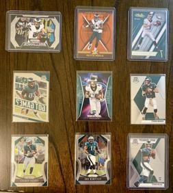 Philadelphia Eagles Football Card Lot !! Jalen Hurts Rookie,
