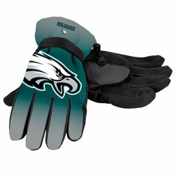 Philadelphia Eagles Gloves Big Logo Gradient Insulated Winte