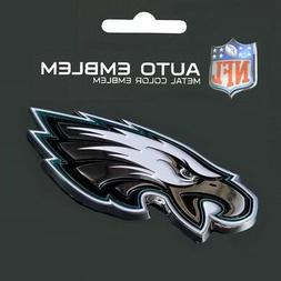 Philadelphia Eagles Heavy Duty Metal 3-D Color Auto Emblem