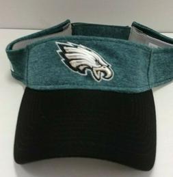 Philadelphia Eagles New Era Home Sideline Visor Hat - Free S