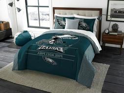 Philadelphia Eagles King Size Bedding Comforter and Shams se