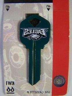 Philadelphia Eagles  Kwikset house key blank KW1
