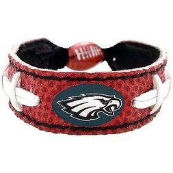 Philadelphia Eagles Logo Bracelet Wristband Genuine Football