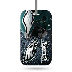 philadelphia eagles luggage id tag new nfl