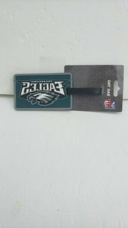 Philadelphia Eagles Luggage ID Tag  Travel Bag