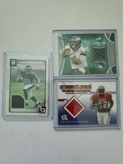 Philadelphia Eagles Mem & Rookie Card Lot