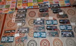 Philadelphia Eagles Memorabilia Lot License plate lots new v
