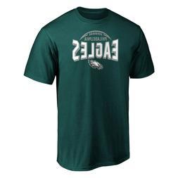 Philadelphia Eagles Men's Clamp Down T-Shirt, Marine Green X