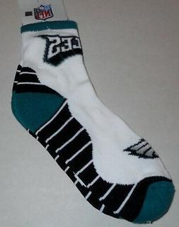 PHILADELPHIA EAGLES NFL TEAM APPAREL MEN'S CREW SOCKS LARGE