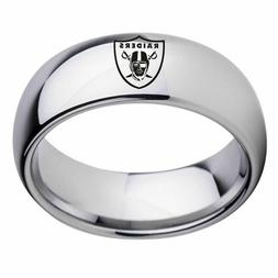 Philadelphia Eagles Mens Ring Titanium Stainless Steel Silve