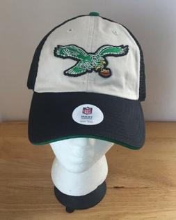 Philadelphia Eagles NFL Team Apparel Mens Snapback Retro Cap