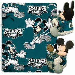 Philadelphia Eagles Mickey Mouse Throw/Hugger Set