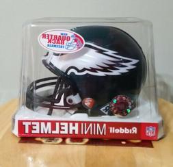 Philadelphia Eagles Riddell Mini Football Helmet!! NIB!!