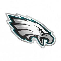 Philadelphia Eagles Mirrored Auto Badge Emblem  NFL Car Deca