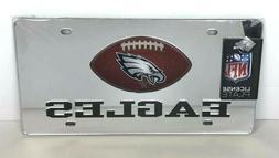 Philadelphia Eagles Mirrored License Plate - Acrylic Materia