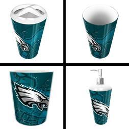 The Northwest Company Philadelphia Eagles NFL 4 Piece Bathro