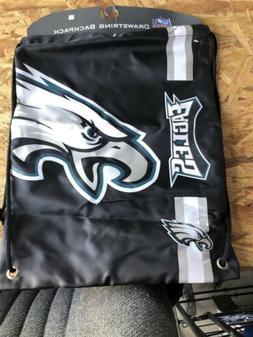 Philadelphia Eagles NFL Big Logo Drawstring Backpack Backsac