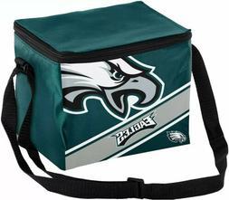 Philadelphia Eagles NFL Big Logo Stripe 12/pack Cooler