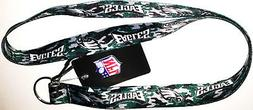PHILADELPHIA EAGLES NFL CAMO PRINT LANYARD KEYCHAIN KEY RING