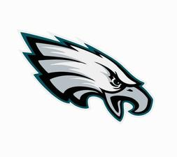 Philadelphia Eagles NFL Football Color Logo Sports Decal Sti