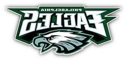 philadelphia eagles nfl football logo car bumper
