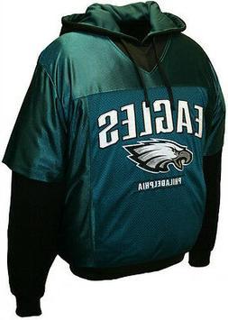 Philadelphia Eagles NFL Jersey Hoodie Sweatshirt Pullover Gr