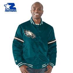 "Philadelphia Eagles NFL Men's Starter ""LEGACY"" Vintage Satin"